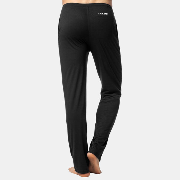Dabs Men's Lounge Trousers-Black - dabs-fitness
