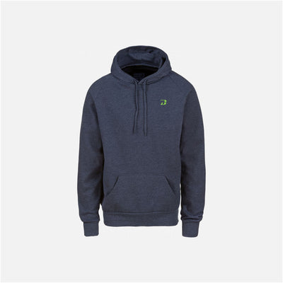 Dabs Mens Pullover Hood- Blue Marl - dabs-fitness