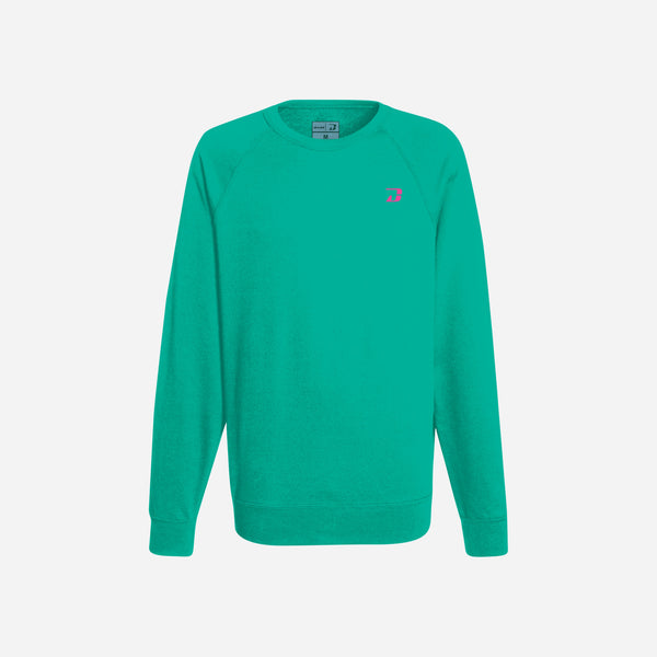 Dabs Ladies Essential Sweatshirt-Aqua green - dabs-fitness