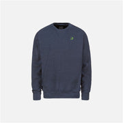 Dabs Mens Essential Sweatshirt-Blue Marl - dabs-fitness