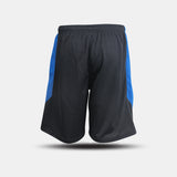 Dabs Men's Performance Shorts- Black/Royal - dabs-fitness