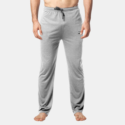 Dabs Men's Lounge Trousers-Heather Grey - dabs-fitness