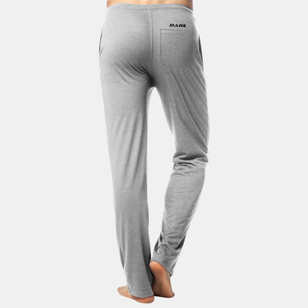 Dabs Men's Lounge Pants-Heather Grey - dabs-fitness