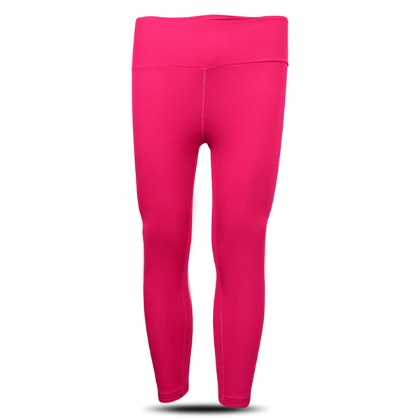 Dabs Ladies Yoga Pants- Hot Pink - DABS® Fitness Wear