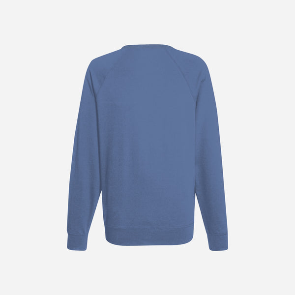 Dabs Ladies Essential Sweatshirt-Blue Marl