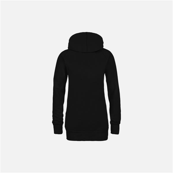 Dabs Ladies Pullover Hood-Black - dabs-fitness