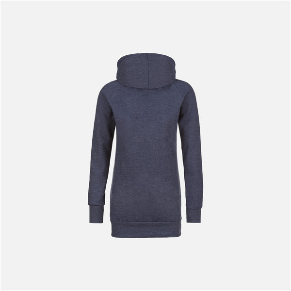 Dabs Ladies Pullover Hood-Blue Marl - dabs-fitness