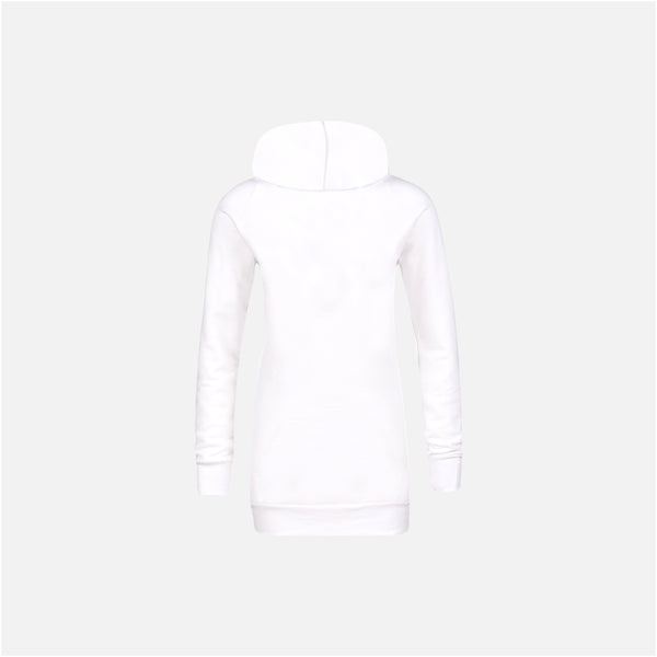 Dabs Ladies Pullover Hood-White - dabs-fitness