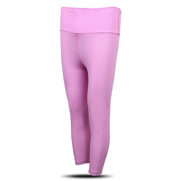 Dabs Ladies Yoga Pants- Flamingo Pink - dabs-fitness
