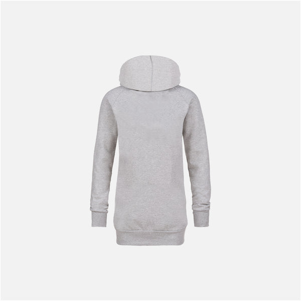 Dabs Ladies Pullover Hood-Heather Grey - dabs-fitness