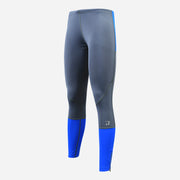 Dabs Men's Compression Pants-Grey/Blue