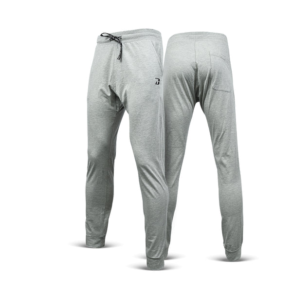 Dabs Men's Performance Trousers- Heather Grey