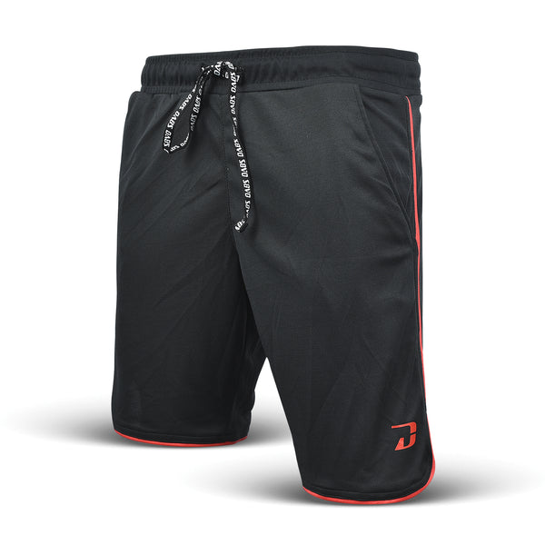 Dabs Racer Shorts- Black/Red