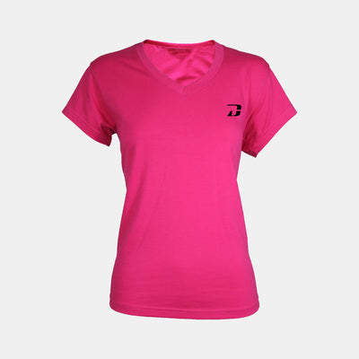 Dabs Ladies HiperVent Shirt-Pink - dabs-fitness