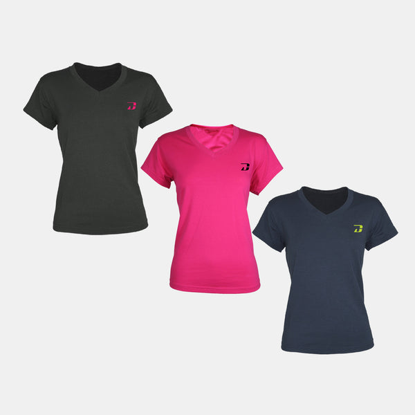 Dabs Ladies Hiper-vent Shirt (3in1) - dabs-fitness