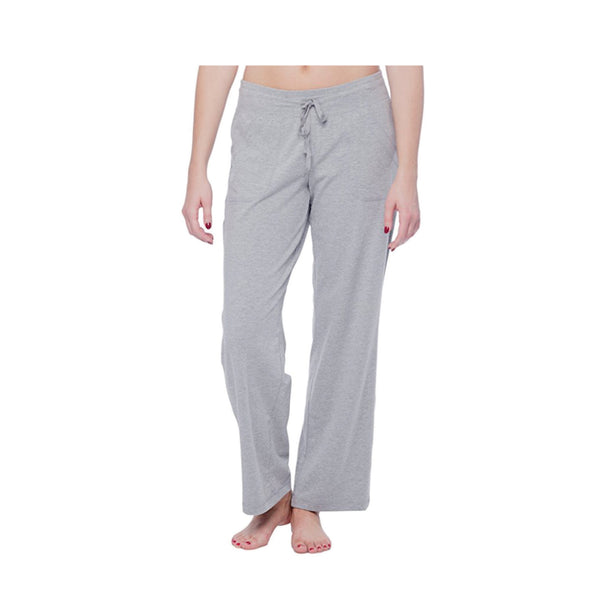 Dabs Women's Lounge Trousers-Heather Grey - dabs-fitness
