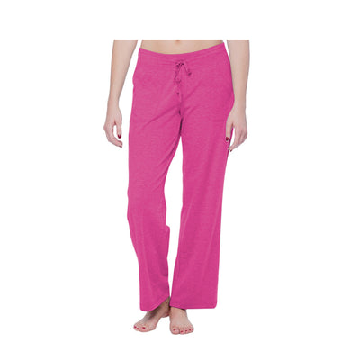 Dabs Women's Lounge Trousers-Pink - dabs-fitness