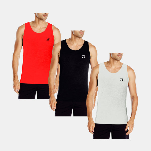 Dabs Men's Tank Top (3in1) - dabs-fitness