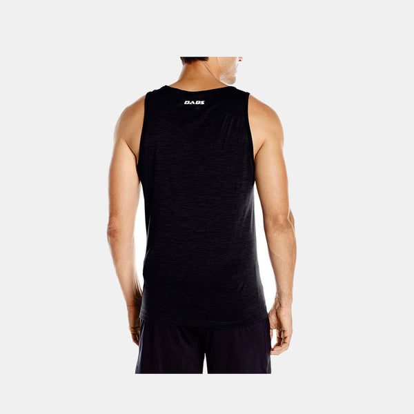 Dabs Men's Tank Top- Black - DABS® Fitness Wear