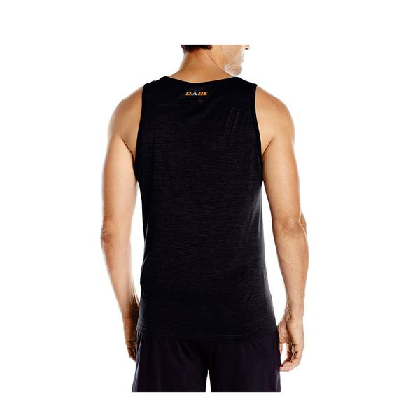 DABS MENS LIFT HEAVY TANK TOP- CHARCOAL
