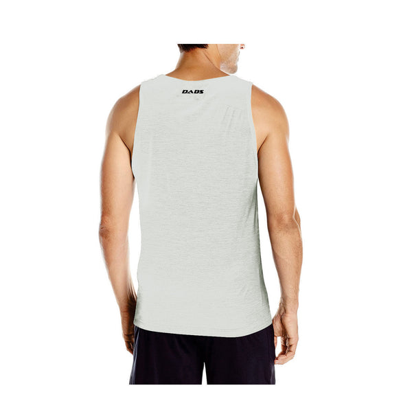 Dabs Men's You Can Tank Top-Heather Grey - DABS® Fitness Wear