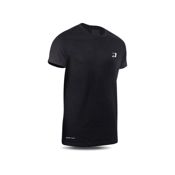 Dabs Mens Hiper-vent Shirt-Black - DABS® Fitness Wear