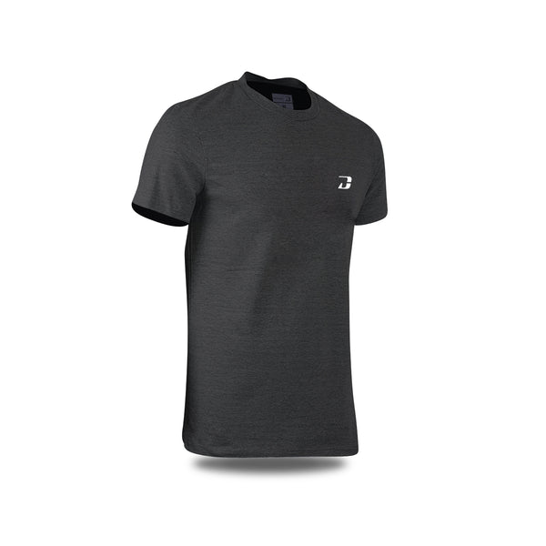 Dabs Mens Hiper-vent Shirt-Charcoal - DABS® Fitness Wear