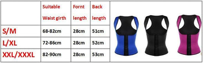 Slimming Sweat Vest Hot Neoprene Shirt Body Shapers for Weight Loss