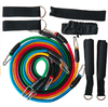 New 11 Pcs/Set Latex Resistance Bands - Absolute BLESSINGS