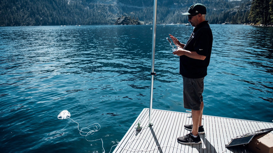 Can You Live Stream With A PowerRay In Lake Tahoe?