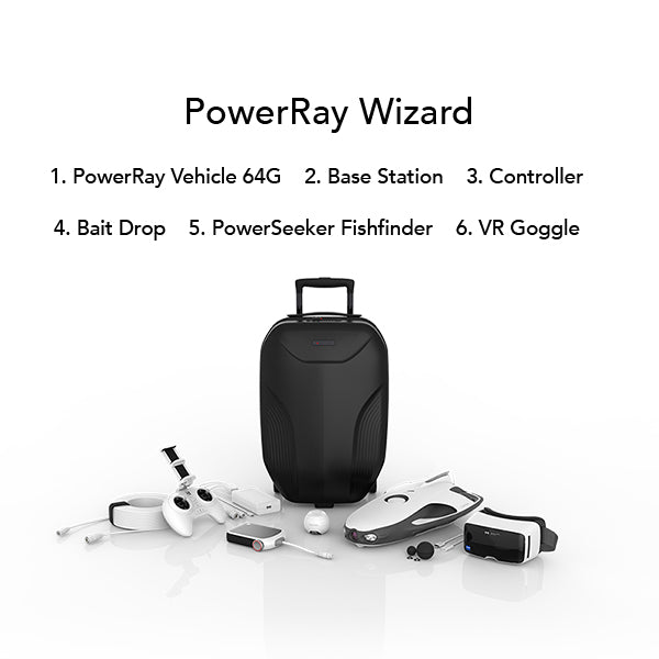 PowerRay Wizard (Certified Open Box) - Powervision Robot Corporation