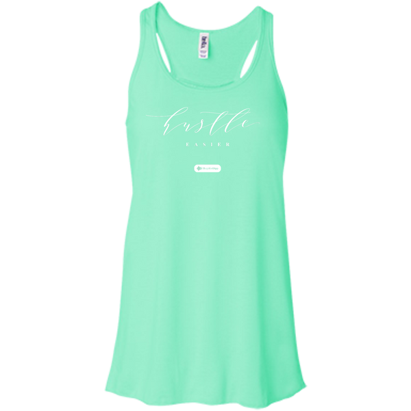 Hustle Easier Flowy Racerback Tank