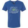 Shopified App Men's Next Level Triblend V-Neck Tee