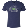 Shopified App Next Level Men's Tri-Blend Tee
