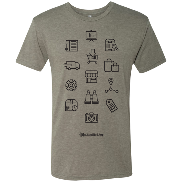 Shopified App Iconic Tri-Blend Tee