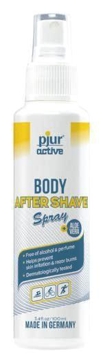 pjur Body After Shave Spray - 3.4 fl.oz - Anti chafing, blisters, pjuractive