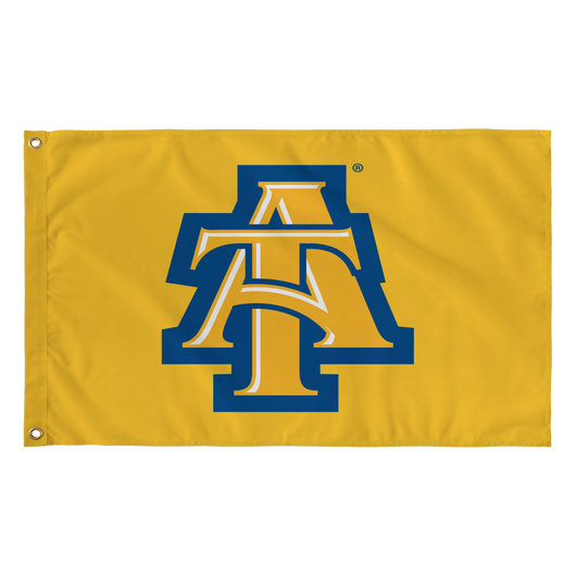 Aggie Gold Interlock Flag