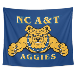 Aggie Blue Wall Tapestry