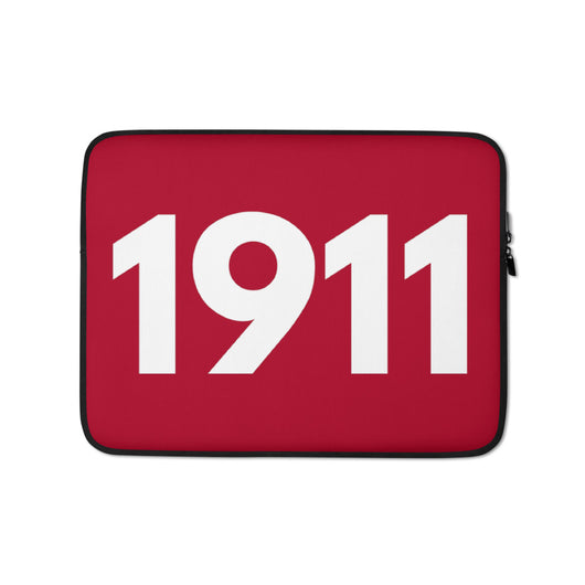 1911 Red Laptop Sleeve