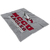 NCCU Fleece Blanket-Grey