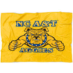 Aggie Dog Blanket-Gold