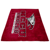 NCCU Fleece Blanket-Maroon