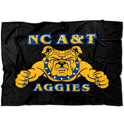 Aggie Dog Blanket-Black