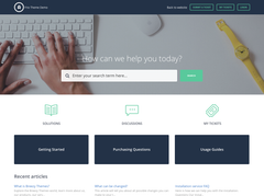 Frio-theme-for-Freshservice-portal