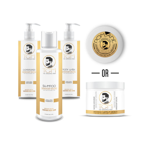 Groomed Gold Set | The Groomed Man Gold Set