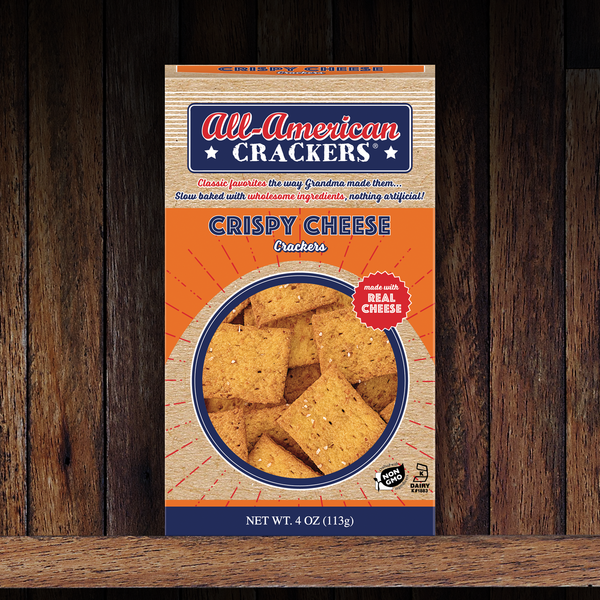 Snack Crackers : Crispy Cheese