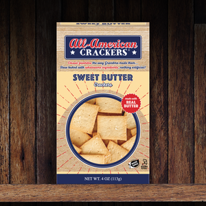 Snack Crackers : Sweet Butter