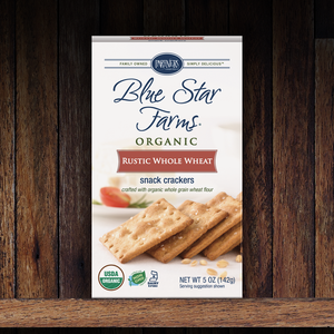 Snack Crackers : Rustic Whole Wheat
