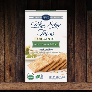 Snack Crackers : Multigrain & Flax