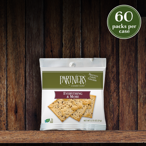 Snack Packs : Bite-Size Crackers : Everything & More - 60 Packs Per Case